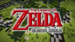 Unduh The Legend of Zelda - Blocky World untuk Minecraft 1.9.4