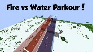 Unduh Fire vs. Water Parkour untuk Minecraft 1.8.7