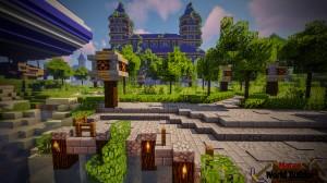 Unduh Castle and Gladiator Arena untuk Minecraft 1.13.2